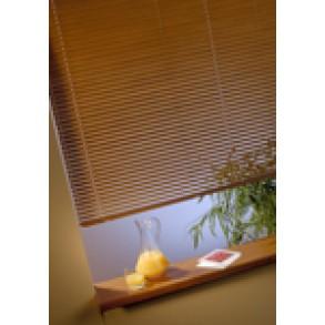Žalúzie na okná ISSO L oblý nosník - 25mm - imitácia dreva